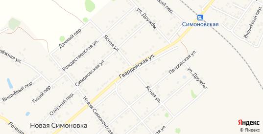 Ясная улица в Валуйках с номерами домов на карте. Спутник и схема онлайн