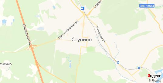 Карта Ступино с улицами и домами подробная. Показать со спутника номера домов онлайн