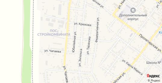 Улица Ф.Энгельса в Валуйках с номерами домов на карте. Спутник и схема онлайн