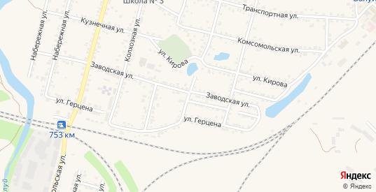 Улица П.Осипенко в Валуйках с номерами домов на карте. Спутник и схема онлайн