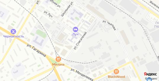 Улица Спасателей в Жуковском с номерами домов на карте. Спутник и схема онлайн