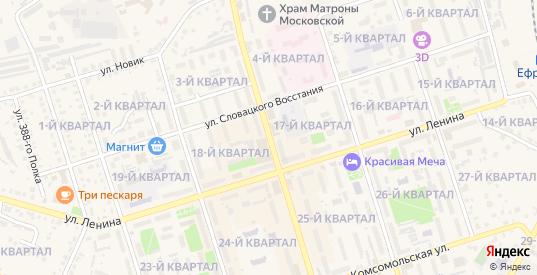 Улица Свердлова в Ефремове с номерами домов на карте. Спутник и схема онлайн