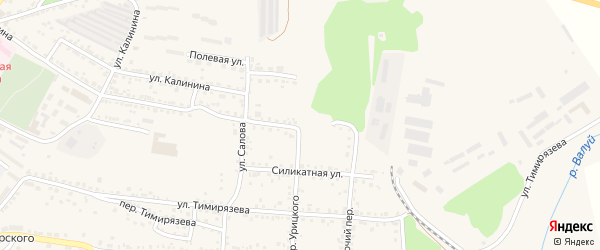 Улица Грецова на карте Валуек с номерами домов
