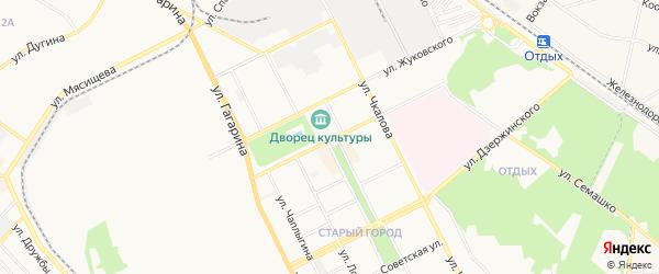 ГСК Спутник-2 на карте Жуковского с номерами домов