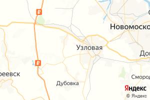 Карта г. Узловая Тульская область