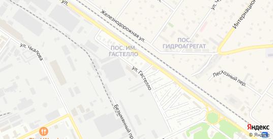 Улица Гастелло в Жуковском с номерами домов на карте. Спутник и схема онлайн