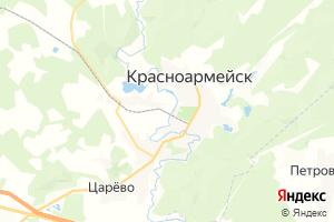 Карта г. Красноармейск Московская область
