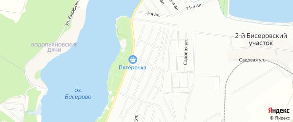 ГСК Чайка на карте Балашихи с номерами домов