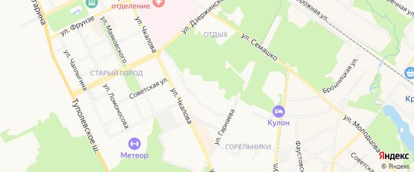 ГСК Зодчий Паркинг на карте Жуковского с номерами домов