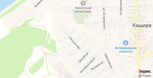 Северная улица в Кашире с номерами домов на карте. Спутник и схема онлайн