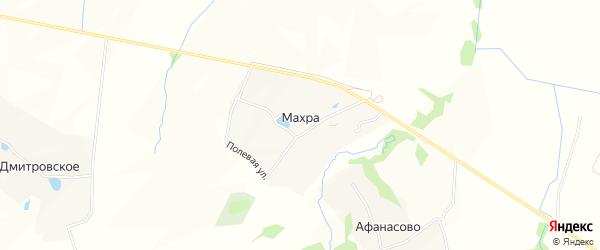 Карта деревни Махры в Московской области с улицами и номерами домов