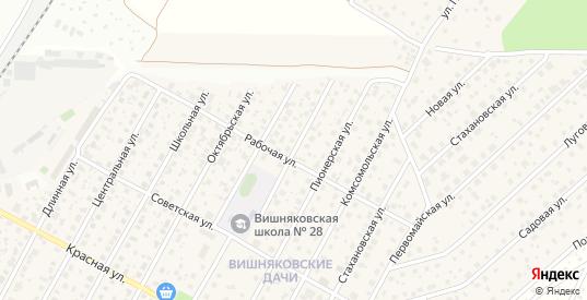 Парковая 2-я улица в Электроуглях с номерами домов на карте. Спутник и схема онлайн