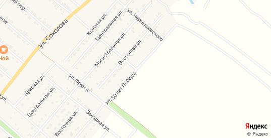 Улица 50 лет Победы в Валуйках с номерами домов на карте. Спутник и схема онлайн