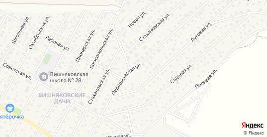 Первомайская улица в Электроуглях с номерами домов на карте. Спутник и схема онлайн