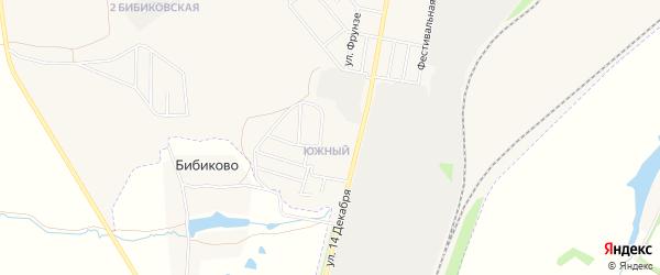 ГСК Южный на карте Узловой с номерами домов