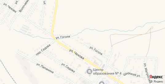 Улица Гоголя в Узловой с номерами домов на карте. Спутник и схема онлайн