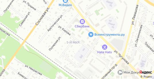 Улица Кирова в Раменском с номерами домов на карте. Спутник и схема онлайн