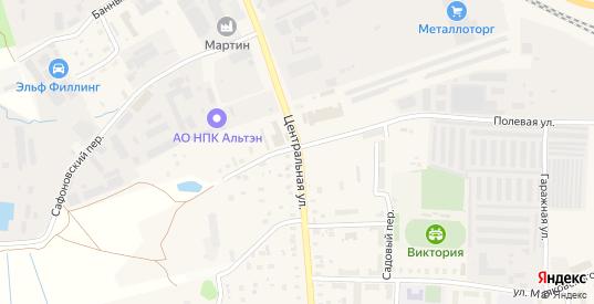 Центральная улица в Электроуглях с номерами домов на карте. Спутник и схема онлайн