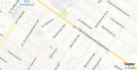 Волгостроевский переулок в Раменском с номерами домов на карте. Спутник и схема онлайн