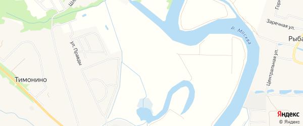 Территория АДНП Владимировские Усадьбы на карте Раменского с номерами домов