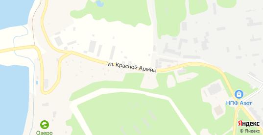 Улица Красной Армии в Краснозаводске с номерами домов на карте. Спутник и схема онлайн