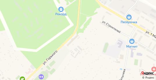 Кленовый тупик в Краснозаводске с номерами домов на карте. Спутник и схема онлайн