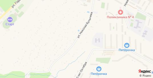 Улица Строителей в Краснозаводске с номерами домов на карте. Спутник и схема онлайн