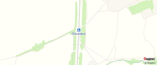 Карта разъезда Ольховки в Тульской области с улицами и номерами домов