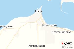 Карта г. Ейск Краснодарский край
