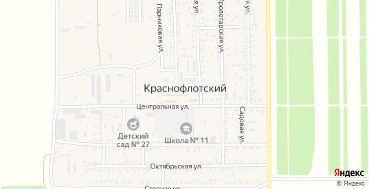 Улица З.Чепеги в поселке Краснофлотский в Ейске с номерами домов на карте. Спутник и схема онлайн