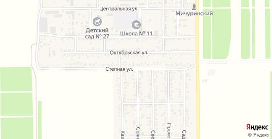 Солнечная улица в поселке Краснофлотский в Ейске с номерами домов на карте. Спутник и схема онлайн