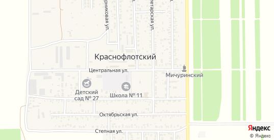 Светлая улица в поселке Краснофлотский в Ейске с номерами домов на карте. Спутник и схема онлайн