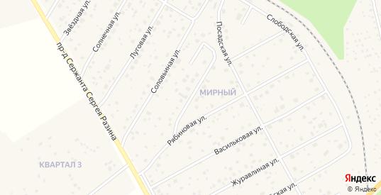 Улица Девичье Поле в Краснозаводске с номерами домов на карте. Спутник и схема онлайн
