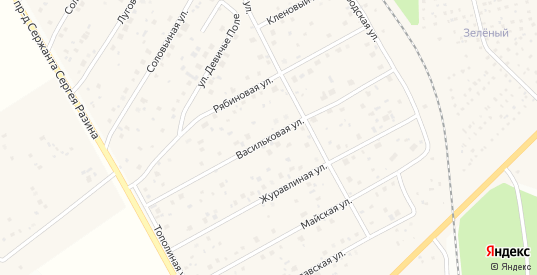 Васильковая улица в Краснозаводске с номерами домов на карте. Спутник и схема онлайн