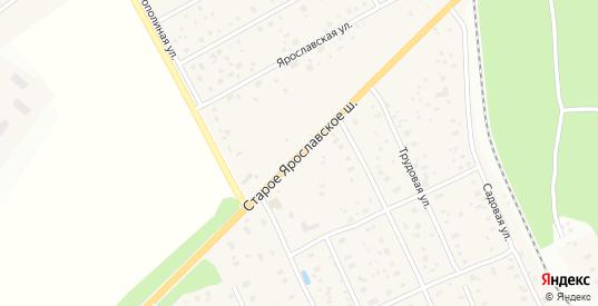 Улица Ярославское шоссе в Краснозаводске с номерами домов на карте. Спутник и схема онлайн