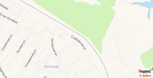 Слободская улица в Краснозаводске с номерами домов на карте. Спутник и схема онлайн
