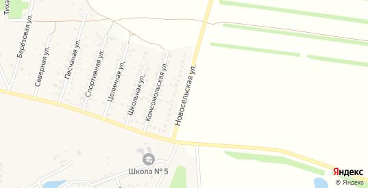 Новосельская улица в Кашире с номерами домов на карте. Спутник и схема онлайн