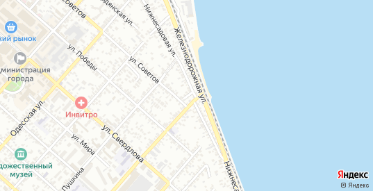 Переулок Алексеева в Ейске с номерами домов на карте. Спутник и схема онлайн