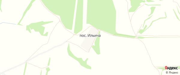 Карта поселка Ильича в Тульской области с улицами и номерами домов