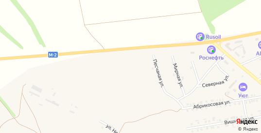 Тихая улица в Бирюче с номерами домов на карте. Спутник и схема онлайн