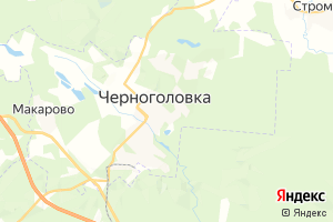Карта г. Черноголовка Московская область