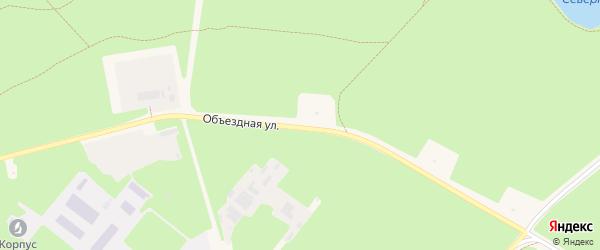 Объездная улица на карте Черноголовки с номерами домов