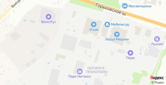 Территория ГСК N4 в Климовске с номерами домов на карте. Спутник и схема онлайн