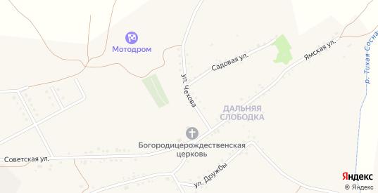 Улица Чехова в Бирюче с номерами домов на карте. Спутник и схема онлайн