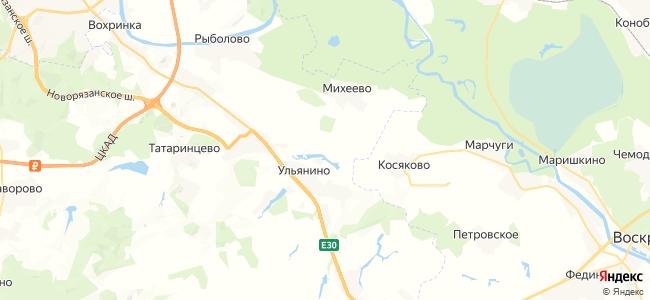 Колоколово на карте