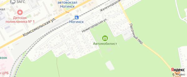 Площадь Революции на карте Ногинска Московской области с номерами домов