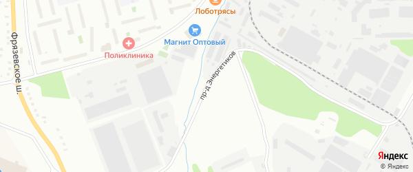 Проезд Энергетиков на карте ГСК ГСК-26 с номерами домов