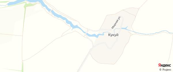 Карта садового некоммерческого товарищества Источника в Тульской области с улицами и номерами домов