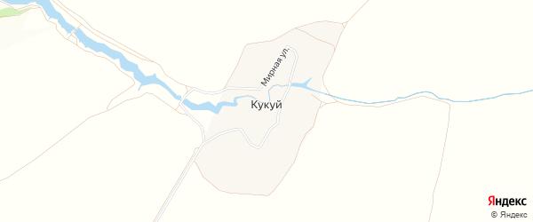 Карта деревни Кукуя в Тульской области с улицами и номерами домов