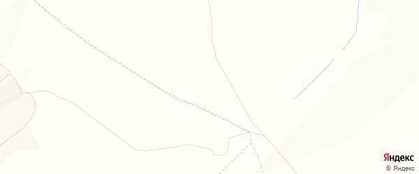 Карта хутора Калининой в Белгородской области с улицами и номерами домов